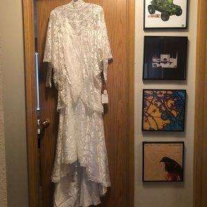 Vintage NWT Lace Wedding Dress